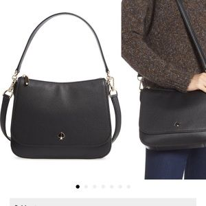 Kate Spade New York medium Polly leather bag.
